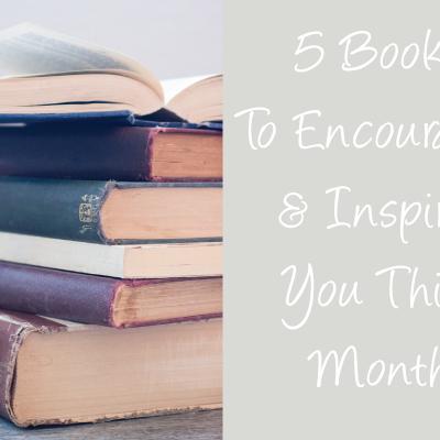5 books to encourage