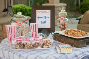Plan An Outdoor Movie Night!