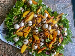 Stone Fruit Salad with Balsamic